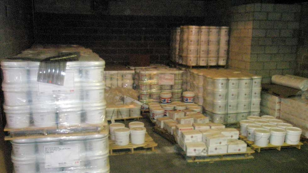 FBE Warehouse Mortar Inventory
